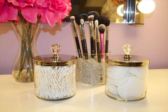 DIY Vintage Idea For Makeup
