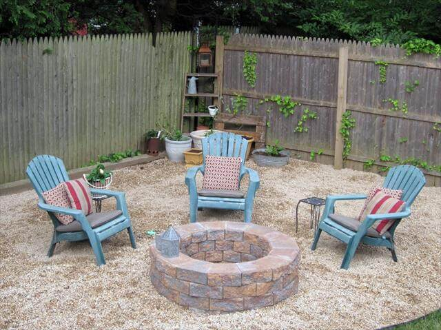 out door fire pit idea
