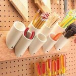 PVC Pipe Storage Idea