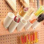 PVC Pipe Storage Idea