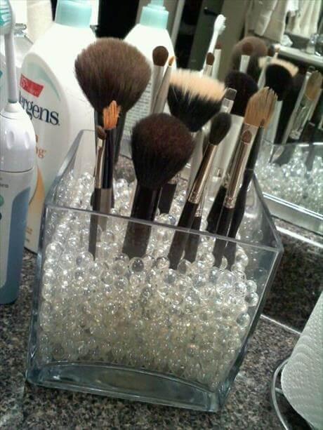 Makeup Holder Organizer Idea