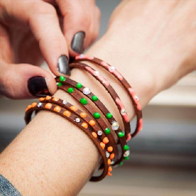 diy noen bracelet for cute girls