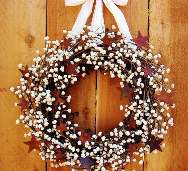 DIY Stylish Spring Wreath