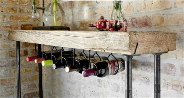 Wine rack Made From Wood