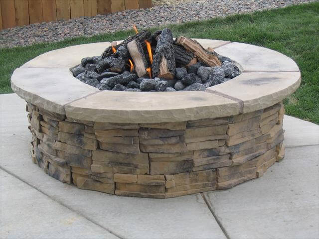 awesome fire pit design out door idea