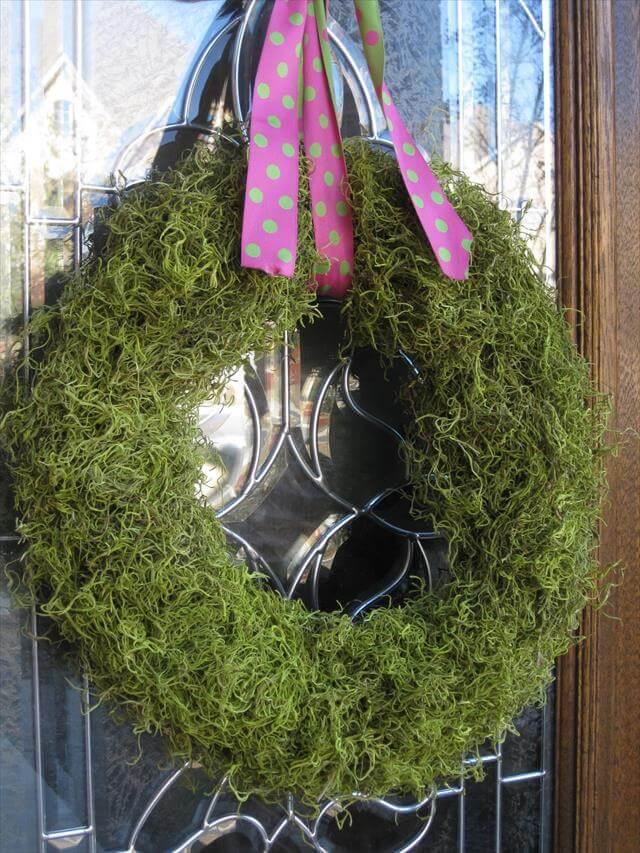 Natural Diy Spring Wreaths For Front Door