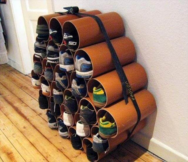 PVC Pipe Storage Holder