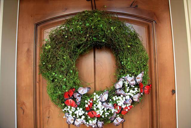 diy spring wreath designfor your home