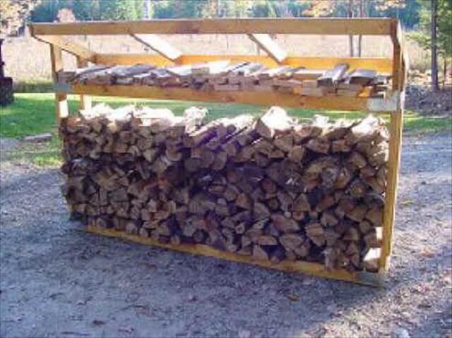 DIY old wood rack plan