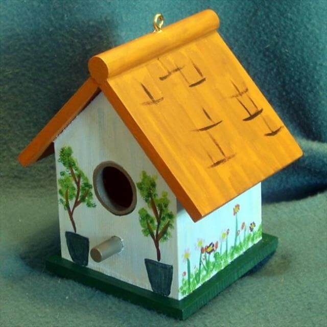 diy bird house design