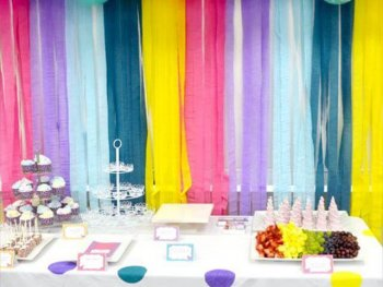 Birthday Decor Idea