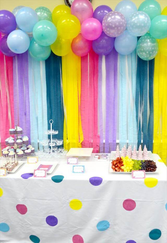 11 Diy Easy Birthday Decor Ideas