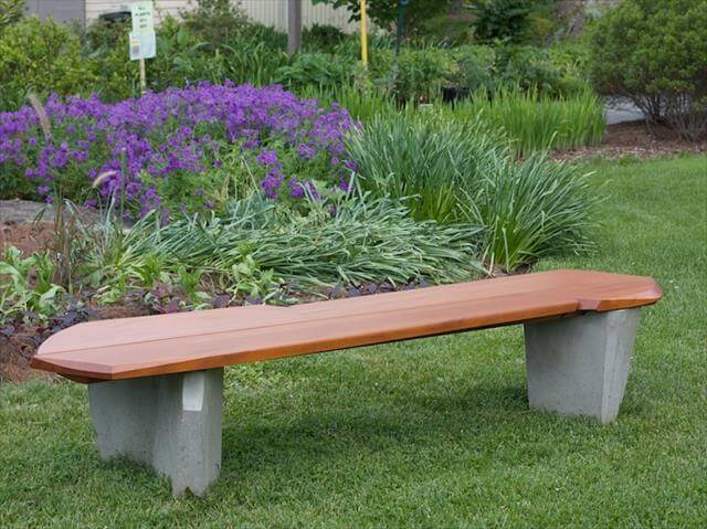 Out door bench idea