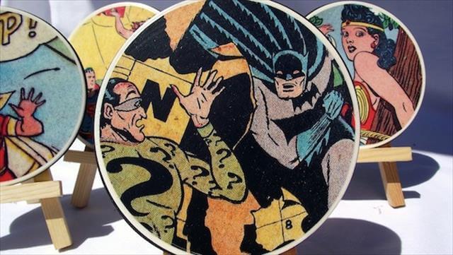 Comic Book Coaster