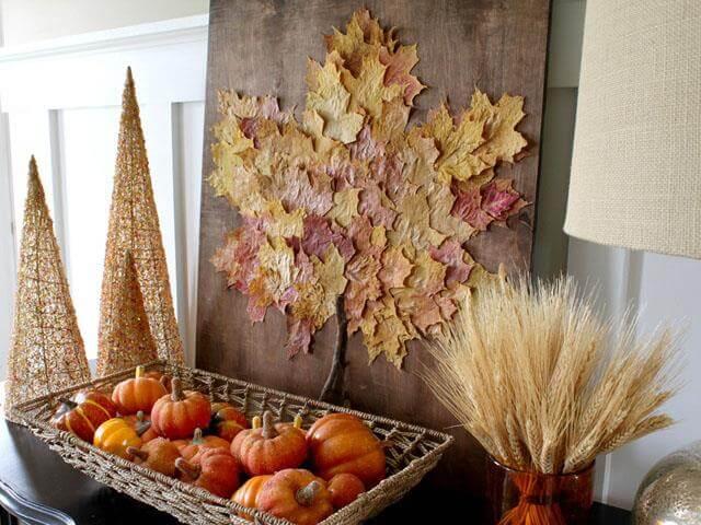 Fall Leaf Artwork