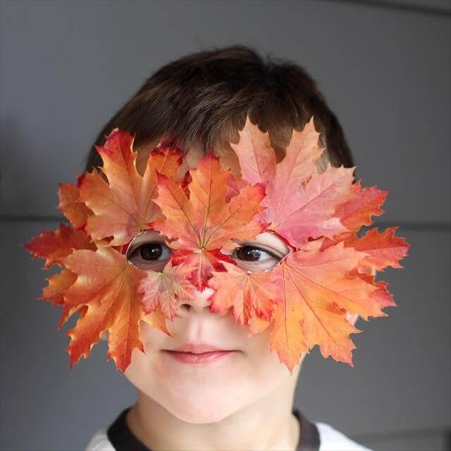Leaf Mask For Boys
