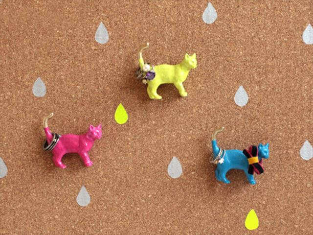 DIY Plastic Animals Ring Holder