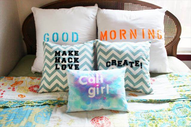 Type Pillow