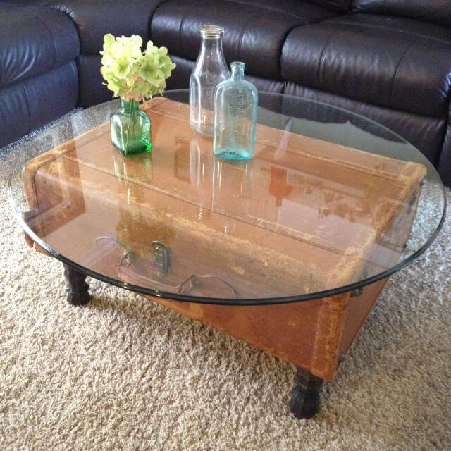 DIY-Vintage-Suitcase-Coffee-table
