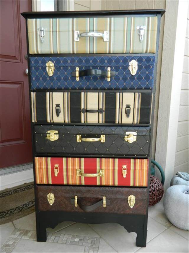 18 DIY Old Suitcase Projects | DIY to Make