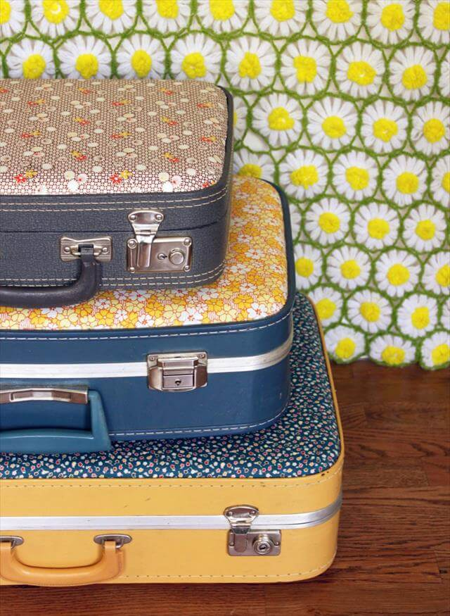 DIY-Vintage-Suitcase-Fabric