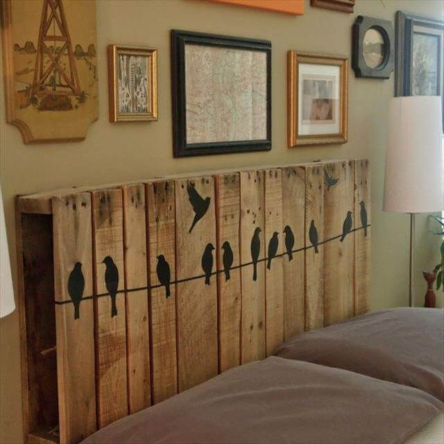 Diy headboard Design