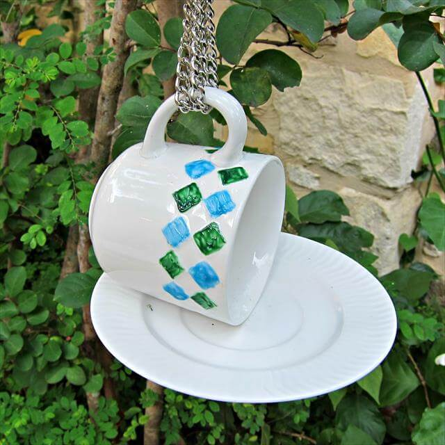 Simple Hanging Tub Bird Baths