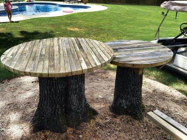 diy table ideas for garden improvement diy to make