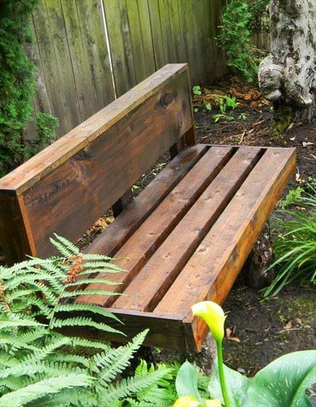 Simple And Easy Out Door DIY Bench