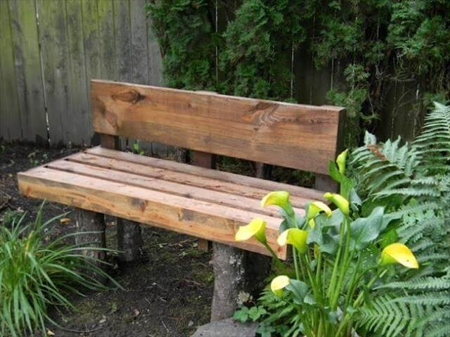 8 DIY Outdoor Bench For Garden And Patio DIY To Make