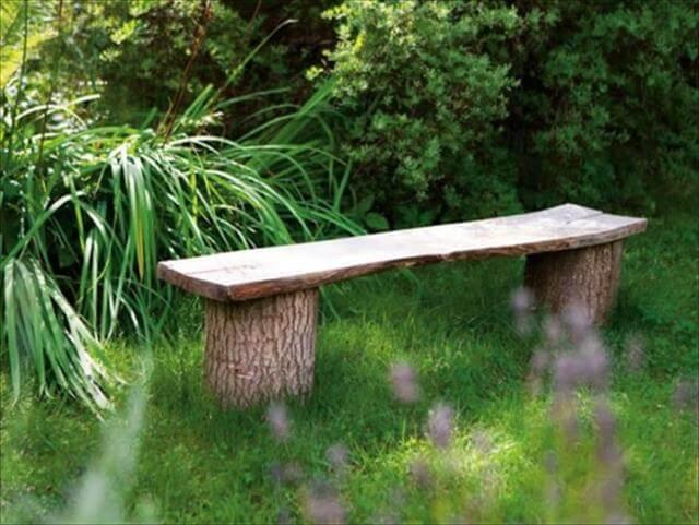 DIY Bench For Summer