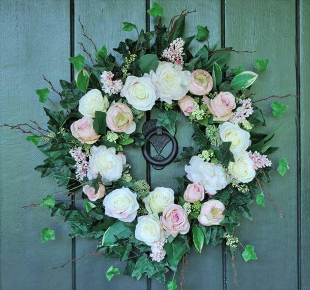 Refreshing-Handmade-Spring-Wreath-Ideas-You-Could-Easily
