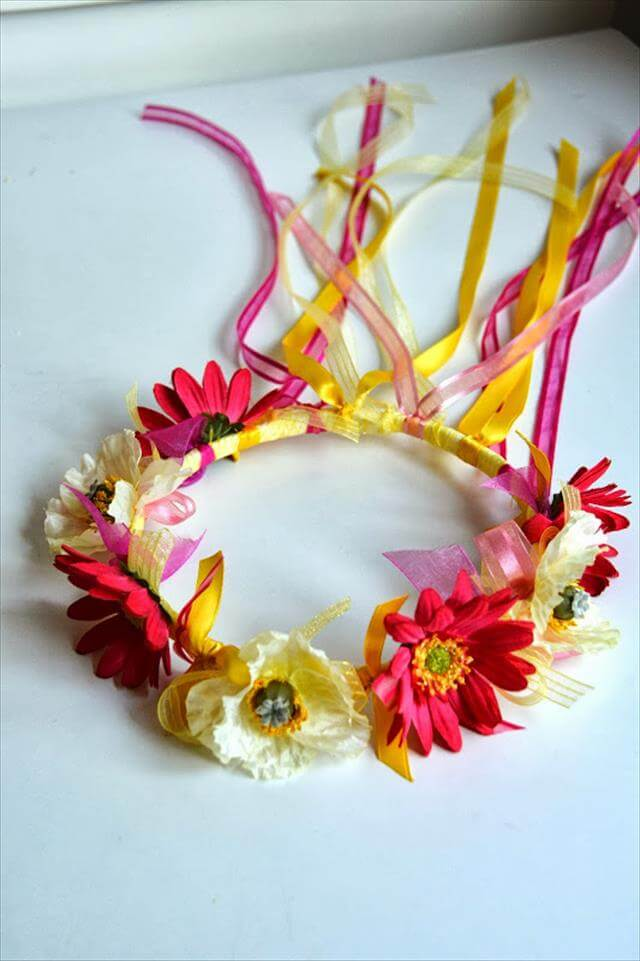Crown Made From Ribbon
