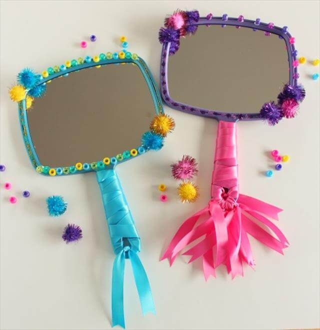 DIY Mirror decor