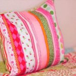 DIY Ribbon Pillow