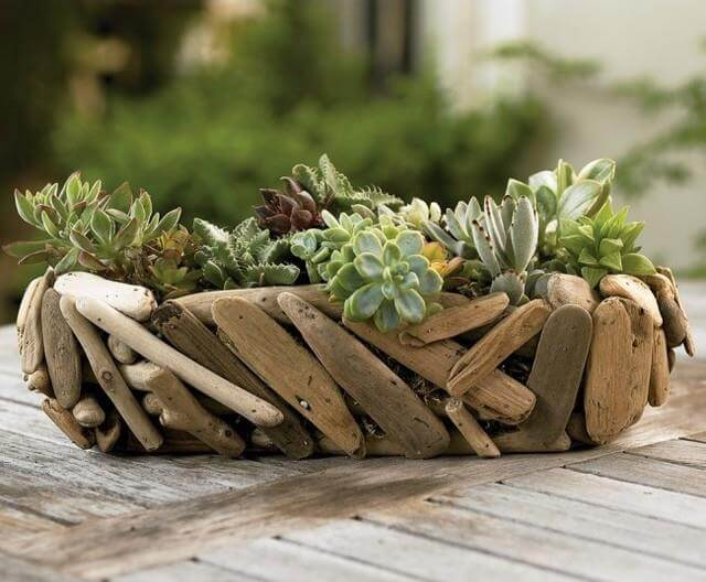 Rustic DIY Garden Idea