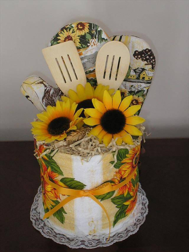 Sunflower Storage Idea