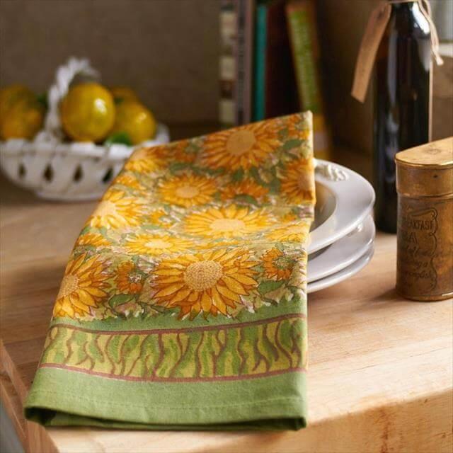 11 Diy Sunflower Kitchen Decor Ideas