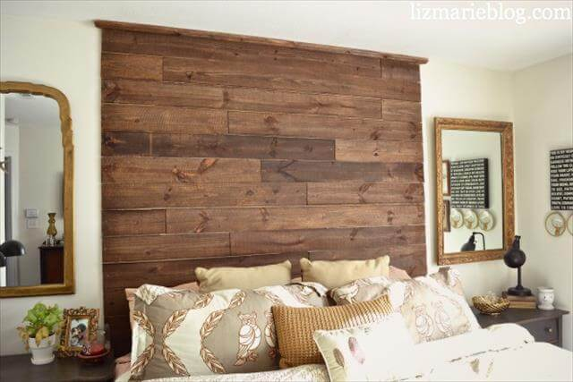 8 diy delightful headboard ideas diy to make for Large headboard ideas