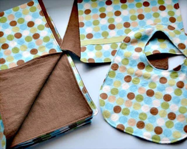 how to make a blanket bike baby shower gift
