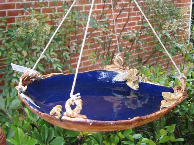 Bird Bath Idea