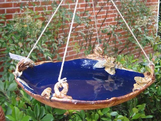 Bird Bath Idea