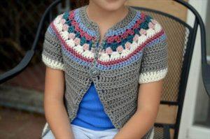 9 DIY Crochet Cardigan Sweater