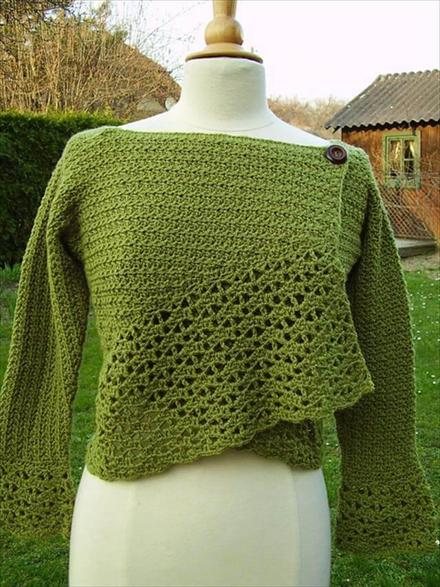 9 Diy Crochet Cardigan Sweater Diy To Make