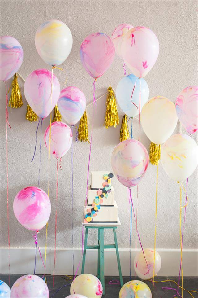 DIY Balloons Decor