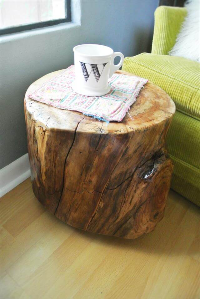 7 Diy Stylish Unique End Table Diy To Make