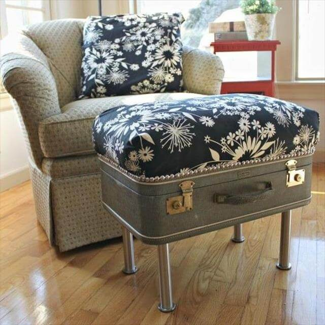 8 DIY Recycled Vintage Suitcase Ideas | DIY to Make