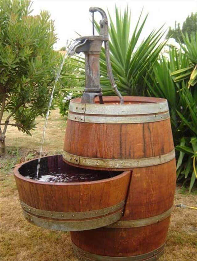 DIY Barrel Water Cooler