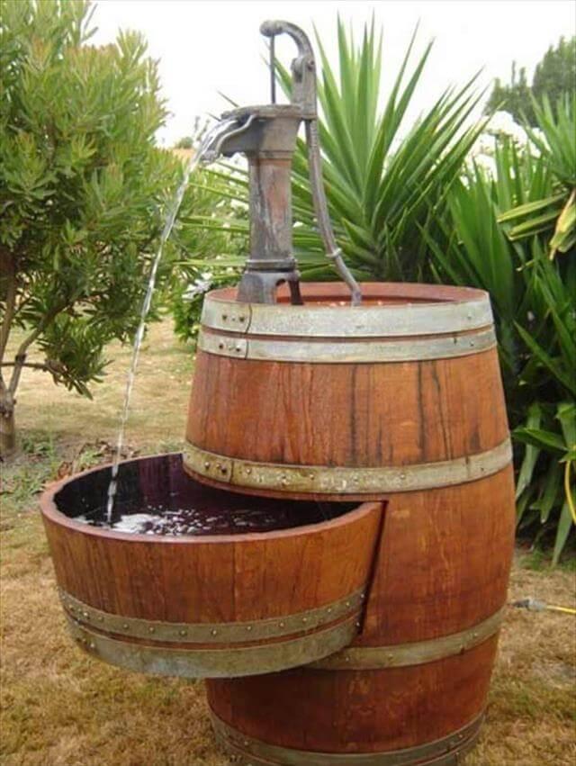 DIY Barrel Water Cooler