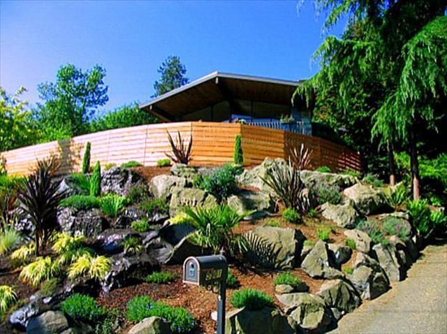Rock Garden For Front Yard